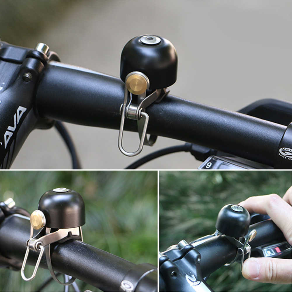 I Like My Bike Aluminum Bike Bicycle Cycling Handlebar Bell Ring Alarm Silver
