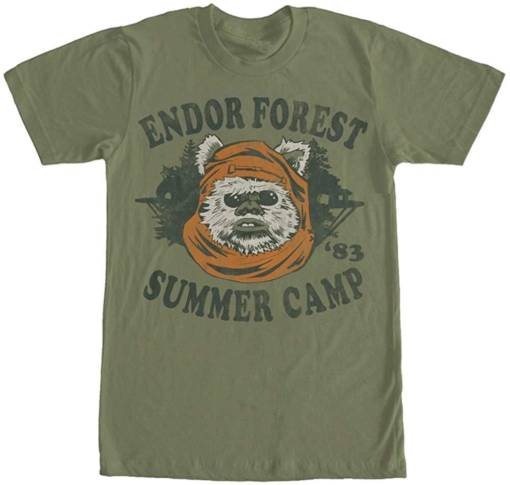 Star Wars Ewok Summer Camp Graphic T Shirt Men Women Plus Size Clothing TEE Shirt