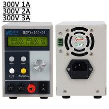 Lab DC แหล่งจ่ายไฟปรับได้ 0 300V 0 3A โปรแกรม Professional Switching ควบคุมแหล่งจ่ายไฟ Power Control 220 V