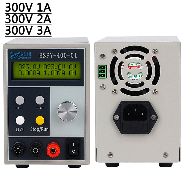 Lab DC POWER SUPPLY Adjustable 0 300V 0 3A Programmable Professional Switching Regulated Power Source Power Control 220 V