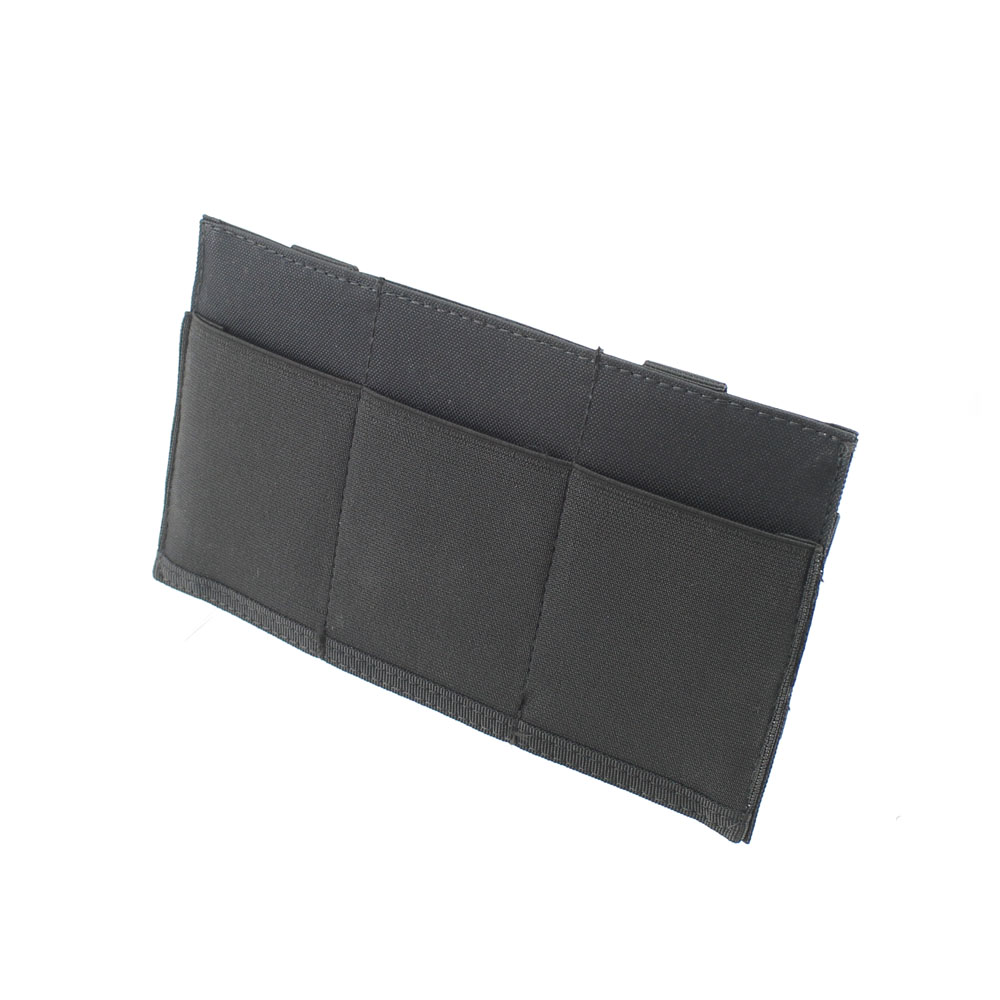 Tactical Molle Pouch Elastic Triple <font><b>M4</b></font> Pistol <font><b>Magazines</b></font> Pouch Universal Outdoor Tool Holder Bag Hunting Cartridge Bags image