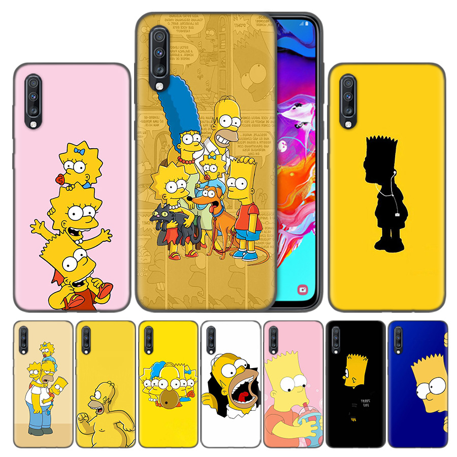 Coque Samsung Galaxy A50 Simpsons