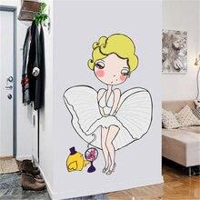 Секс богиня Салон стикер на стену украшение комнаты эстетическое