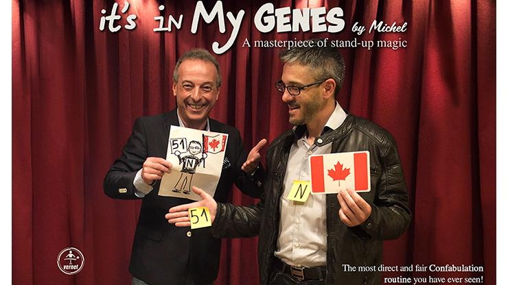 It's In My Genes By Michel,Magic Tricks