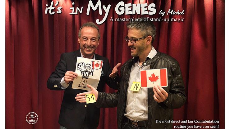 It's In My Genes By Michel,Magic Tricks