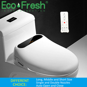Ecofresh smart toilet seat cover electronic bidet cover clean dry seat heating wc intelligent toilet seat cover child seat 1