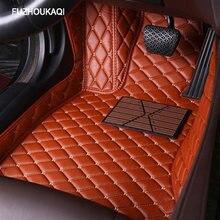 Кожаные автомобильные коврики для renault logan megane 2 captur kadjar fluence laguna 2 scenic koleos Espace, аксессуары, коврики