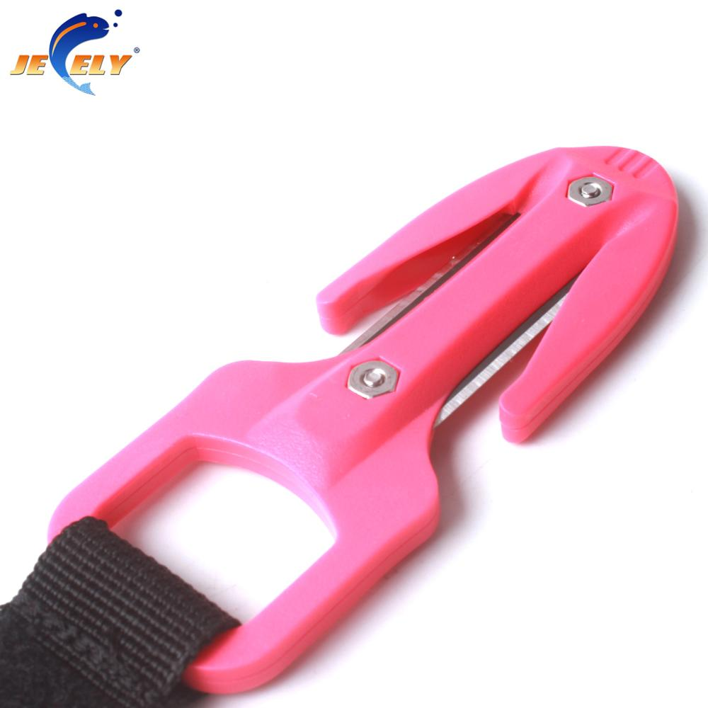 Multi-color Scuba Diving Cutting Special Knife Line Cutter Underwater Knife Spearfishing Secant Equipment