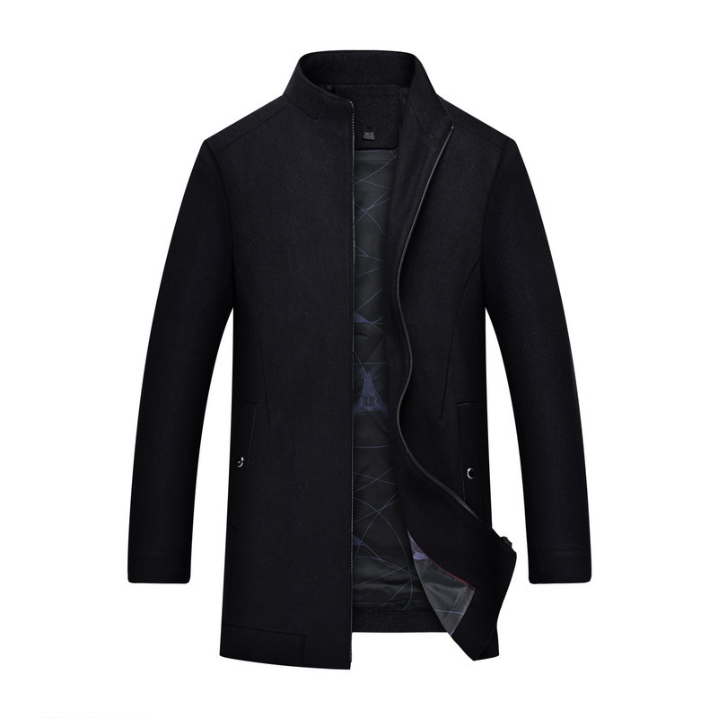 New Large Big Plus Size 8XL 7XL Coat Men Autumn And Winter Fashion Mens Overcoat Wool Quality Warm Trench  Male Woolen Coat