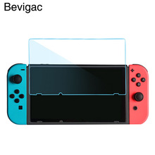 Bevigac 2 шт закаленное стекло против царапин высокой четкости Тонкая Защитная пленка для экрана Защитная крышка для nintendo Switch NS NX