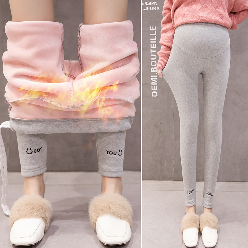 Pregnant Women Pants Plus Velvet Winter Pregnant Women Pants 2019 New Pregnant Women Leggings Maternity Pants Pregnancy Pants