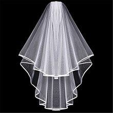 2020 Hot Sale Bridal Veil White Short Wedding Veil Bachelorette Party Hen Night Party Bridal Shower Bride To Be Decoration Gift fengrise white artificial rose bridal veil wedding decoration silk girl veil bachelorette party bride to be hen party decoration