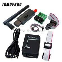 Emulador cc2531 do zigbee-programador cc2540 cc2531 do usb do depurador sniffer com cabo do downloader do conector do módulo de bluetooth da antena