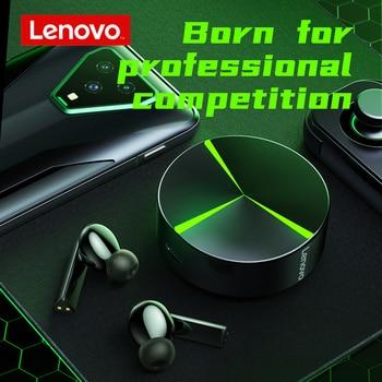 original Lenovo GM1 TWS Game headphones bluetooth 5.0 Wireless headset waterproof Low latency E-sports earplugs/ Android and iOS 1
