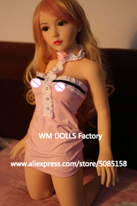 Image 4 - WM DOLLS Top quality 100cm small breasts Anime Silicone Sex Dolls Metal Skeleton full Size Lifelike vagina love dolls for men