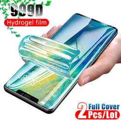 Full Cover Screen Protector For iPhone 12 11 Pro Max Soft Protective Hydrogel Film On iPhone XR X XS Max 7 8 Plus 6 6s Not Glass