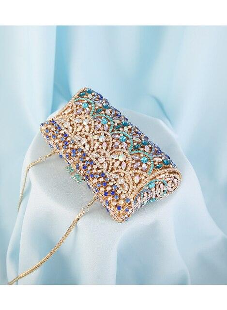 Diamond colorful Crystal  Clutch   4