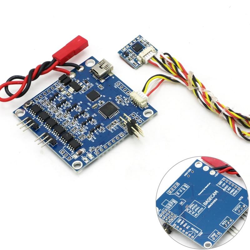 BGC 3.1 Brushless Gimbal Controller/PTZ Controller W/6050 Sensor For FPV Multirotor Drop Free Shipping