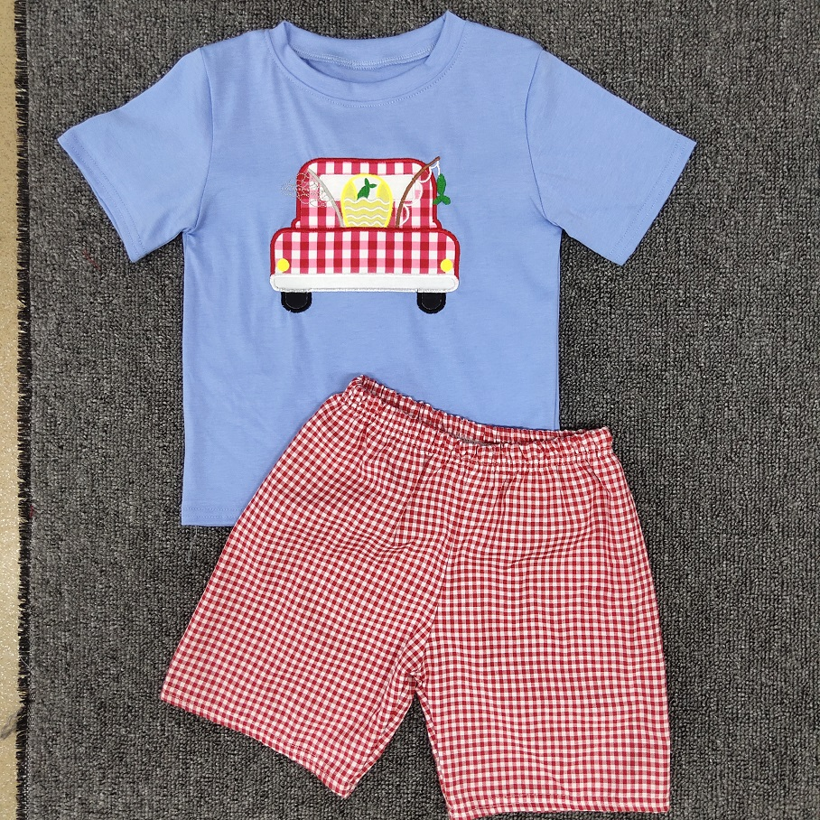 2020 Summer Kids Clothing Sets Boys Clothing T-shirt Boutique Suit Boy Clothing Set