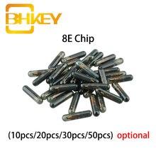 BHKEY Glass 8E Chip ID 8E Transponder Chip For Honda Key Not Coded Blank Chip 8E 10X 20X 30X 50X casio tq 218 8e