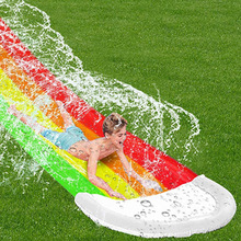 Pool-Toy Slide Water-Toy Outdoor Inflatable Kids Child Summer Adult