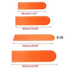 12 16 20 24in prowadnica do piły łańcuchowej osłona ochronna pochwa Protector uniwersalna płyta prowadząca uchwyt do łańcuszka piła przewodnik rękaw narzędzia tanie tanio Narzędzia ogrodowe części CN (pochodzenie)