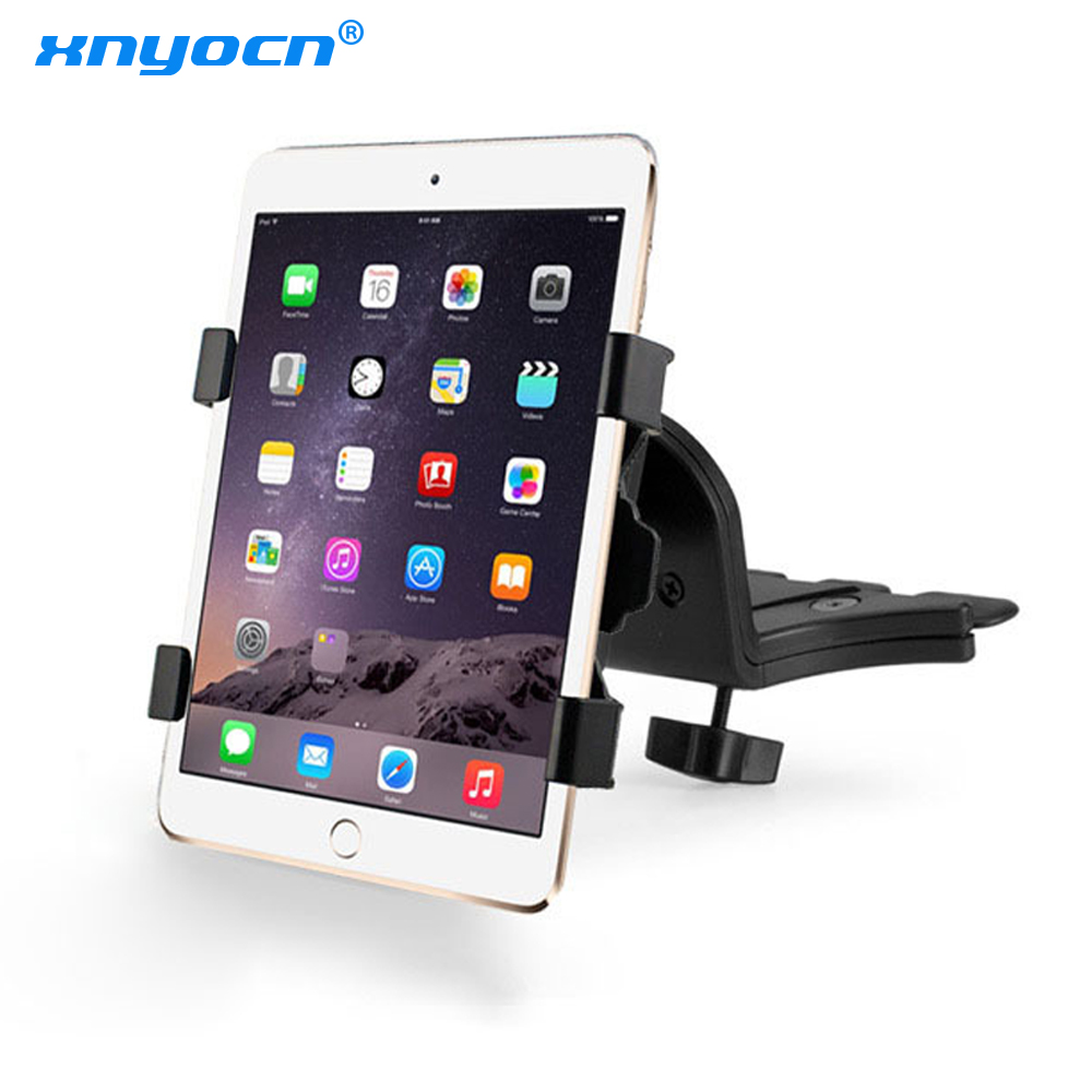 Car CD Slot Holders Tablet Tab Mounts Stands For iPad Air Mini (2019) For iPad 9.7 Pro 11 For iPad Mini 5 4 3 2 Lenovo Tab 2 A10|Tablet Stands| |  - title=