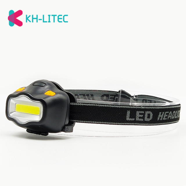 Outdoor Lighting Head Lamp 12 Mini COB LED Headlight For Camping Hiking Fishing Reading Activities White Light Flash Headlamp 2