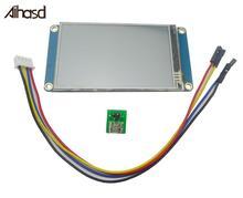 Сенсорный ЖК дисплей Nextion, 3,2 дюймовый TFT 400X240 резистивный сенсорный экран, HMI ЖК дисплей, TFT сенсорная панель для arduino TFT raspberry pi