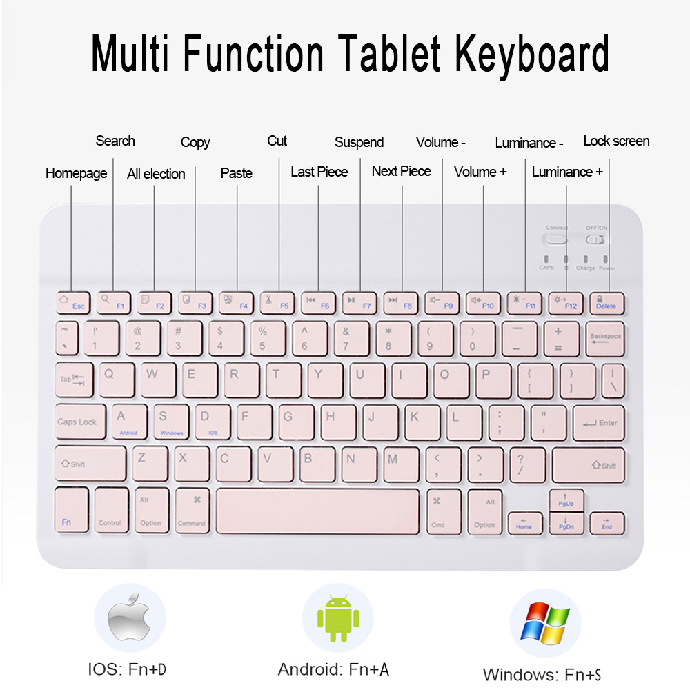 Mouse Wireless For iPad with 4th-Generation Mice Keyboard-Case Bluetooth Air-4 A2324