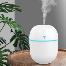 3 in 1 Mini USB Ultrasonic Humidifier with LED Lighting Ultra-Silence Desk Vaporizer for Home Office Car