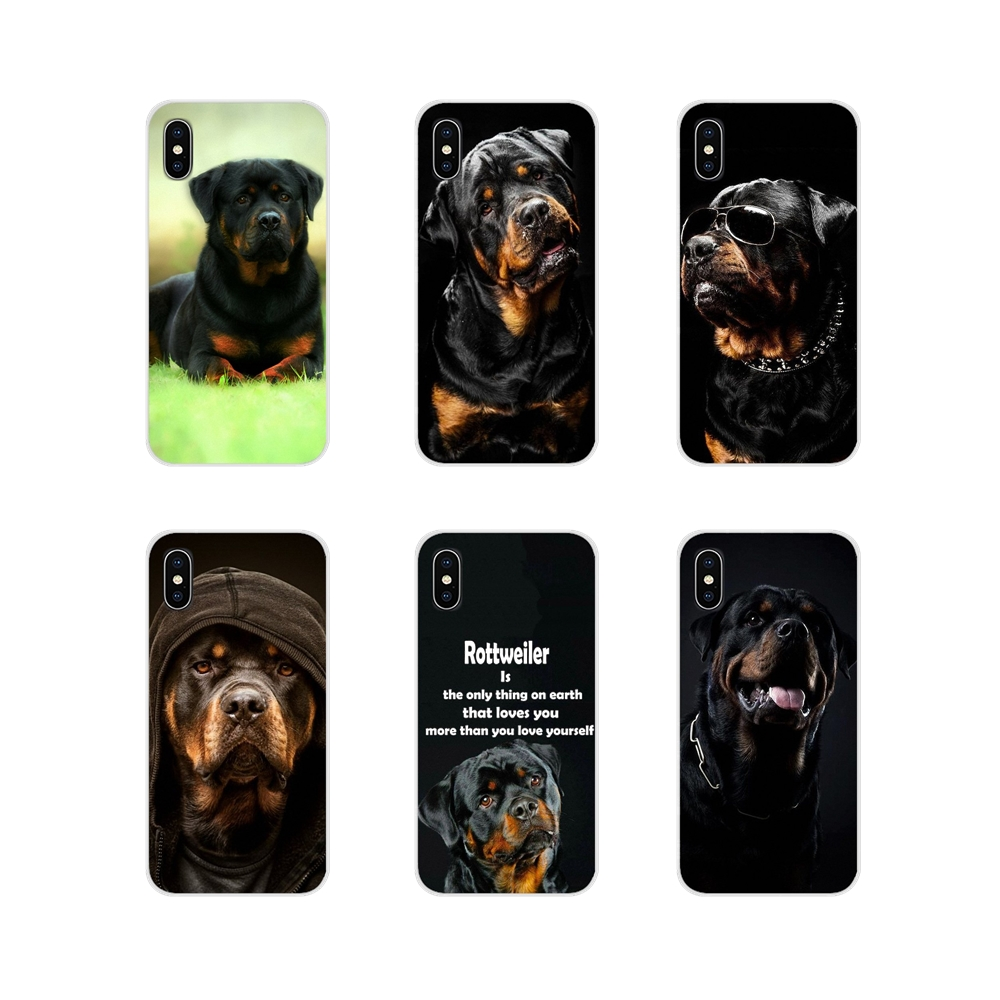 Rottweiler Dog Lovely Accessories Phone Shell Covers For Samsung A10 A30 A40 A50 A60 A70 Galaxy S2 Note 2 3 Grand Core Prime