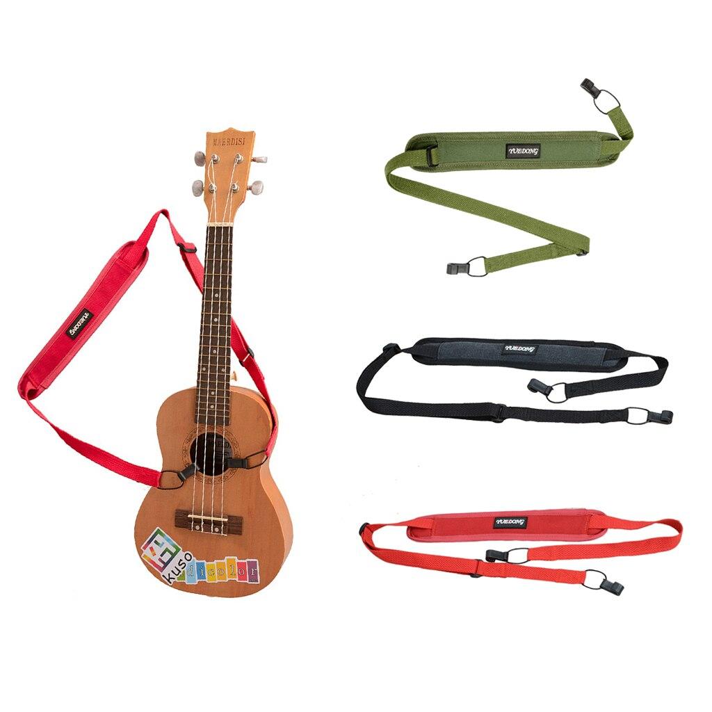 Ukelele Uke Strap Adjustable Smooth Neck Sling Halter Ukulele Parts Accessories