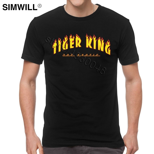 Tiger King Joe Exotic Tee Men Short Sleeve O-neck Election For President T Shirt Fashion Brand Streetwear T-shirt Apparel Gift 2