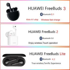 Image 3 - HUAWEI FreeBuds 3/2/Lite TWS kulaklık Bluetooth kablosuz spor kulaklık Kirin A1 in kulak kulaklık su geçirmez kulaklık