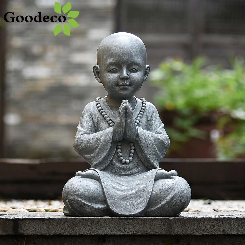 Rouge IMIKEYA Mini Ornements de Moine Kung Fu Bouddha Statue Th/é Animal Zen Jardin Th/é Plateau Figurine pour Kung Fu Th/é Plateau Voiture D/écoration de Bureau /à La Maison