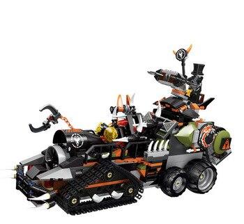 Juego de bloques de construcción de vehículos de Dragon Warriors para niños,...