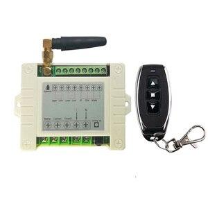 Image 4 - 433mhz RF 220V elektrikli kapı/perde/kepenkler limit kablosuz radyo uzaktan kumanda anahtarı İleri ve ters motorları