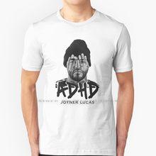 T-shirt 100% coton pur tdah, Joyner, Lucas, Rap, Hip Hop, Logic, hacklemore, Hopsin, Lil, Dicky, vica