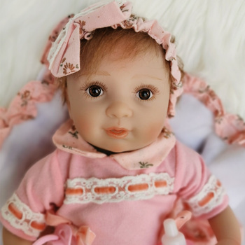 Real alive newborn baby doll toys 40cm soft silicone reborn baby doll for girls kids playmate bebe reborn menina