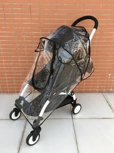Image 3 - Yoyo impermeable accesorios de cochecito de bebé cubierta de lluvia cubierta impermeable para Babyzen Yoyo Yoya Babytime Babysing de seguridad Material EVA