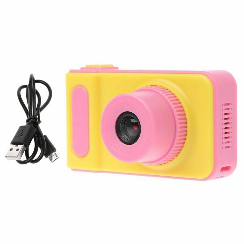 Children Mini Camera Kids Camera Educational Toys Mini Digital Camera 1080P Projection Photo Video Camera for kids Birthday Gift in Point Shoot Cameras from Consumer Electronics