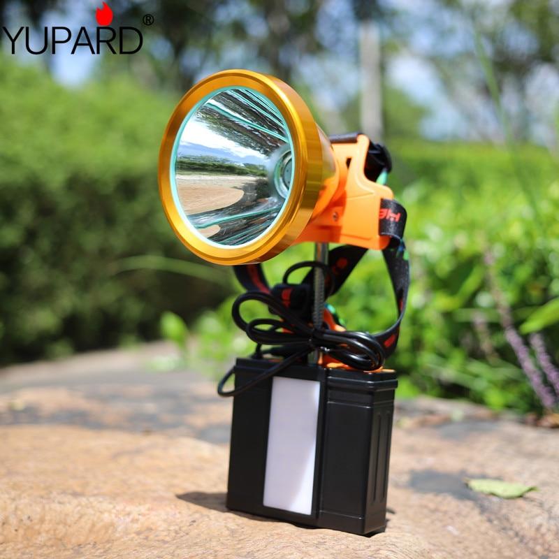 YUPARD2000 Lumen XHP-50 led phare pêche Camping phare haute puissance lanterne lampe de travail lampe intégrée 18650 batterie