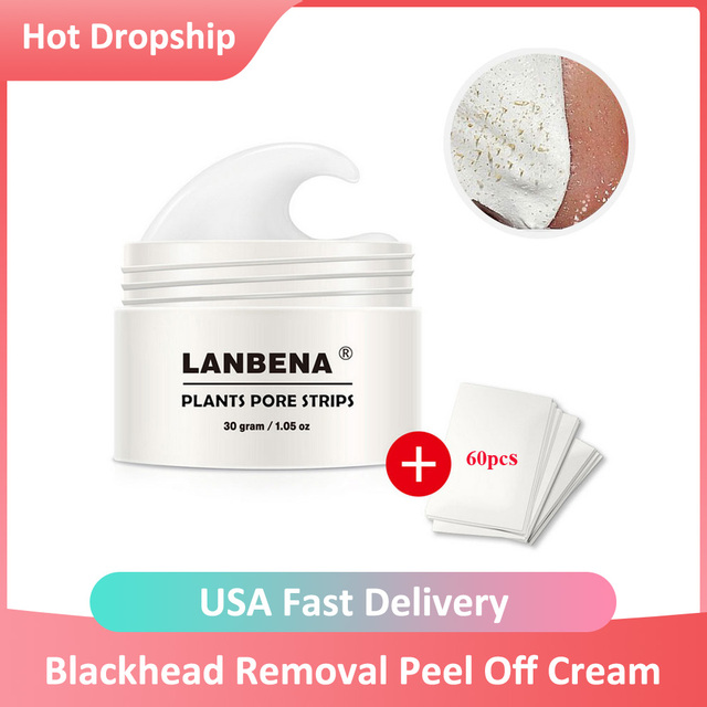 Blackhead Removal Peel Off Mask Nose Pore Strip Deep Cleansing Whitehead Extractor Black Head Peeling Mask T Zone Skin Care