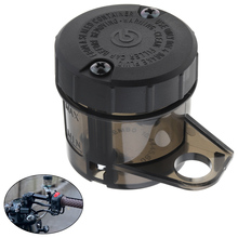 цена на Motorcycle Front Brake Fluid Bottle Master Cylinder Oil Reservoir Cup Fit for Ducati Honda Kawasaki Suzuki Yamaha