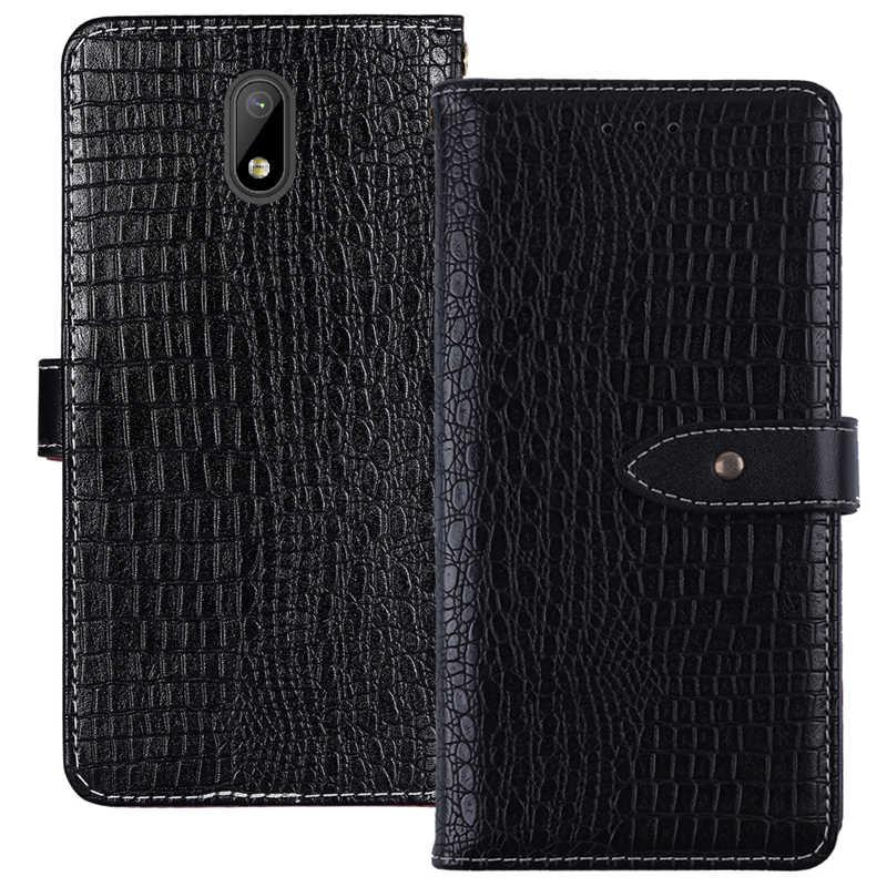 ITien Premium ochronne luksusowe trwałe Retro skórzane Etui z klapką Etui na telefon dla Nuu A3L A5L A6L G1 Etui portfel z przegrodą zewnętrzną Etui skóry