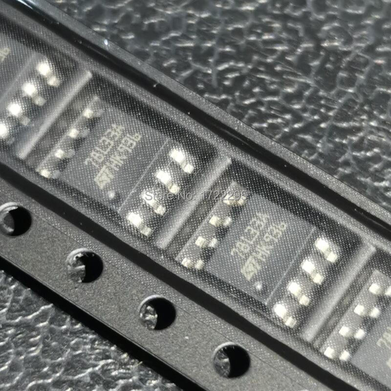 10PCS New And Original L78L33ABD013TR L78L33ABD-TR L78L33ACD 78L33 78L33A SOP8 POSITIVE VOLTAGE REGULATORS