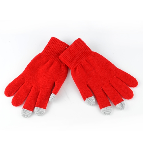 2 COLOR Warm Touchable Screen Gloves Phone Glove Finger Women Acrylic Knitted Winter Tablets Gel Touch Screen Gloves Man Gaming