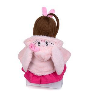 Image 2 - KEIUMIน่ารักซิลิโคนเด็กทารกRebornตุ๊กตา48ซม.Charming Reborn Bonecaกระต่ายเด็กวัยหัดเดินสวมเสื้อคลุมสำหรับเด็กวันเกิดPlaymate