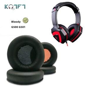 1 пара сменных амбушюр KQTFT для Bloody G500 G501, наушники с накладками на подушечки, 1 пара сменных амбушюр для G500, G501, G-500, 500 г, 501